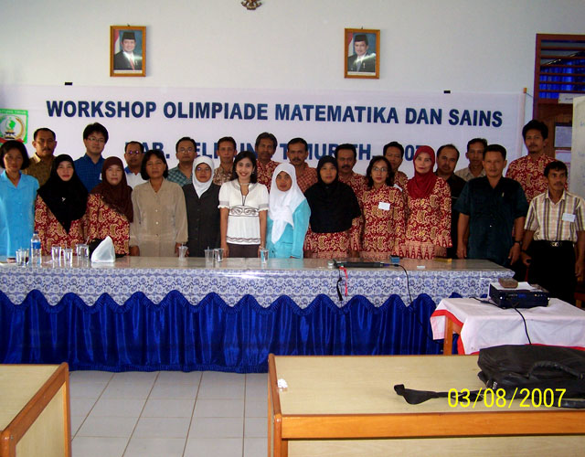 Anton Wardaya Belitung Teachers